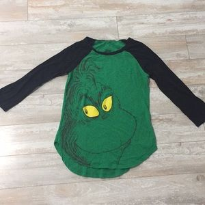Tops - Grinch shirt size small